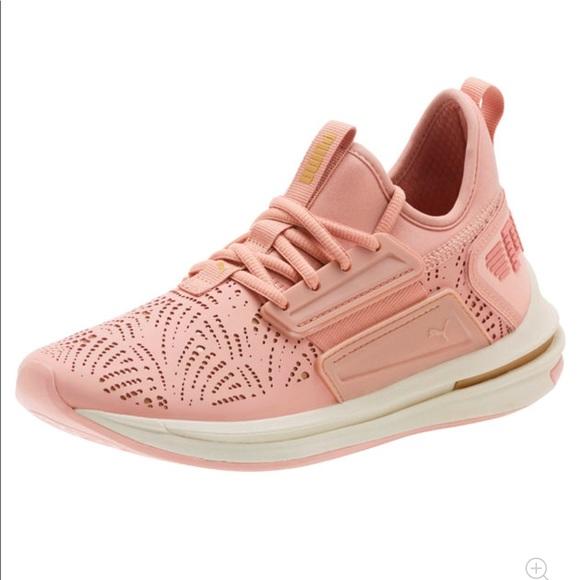 Puma Ignite Sneakers Rose Gold Pink